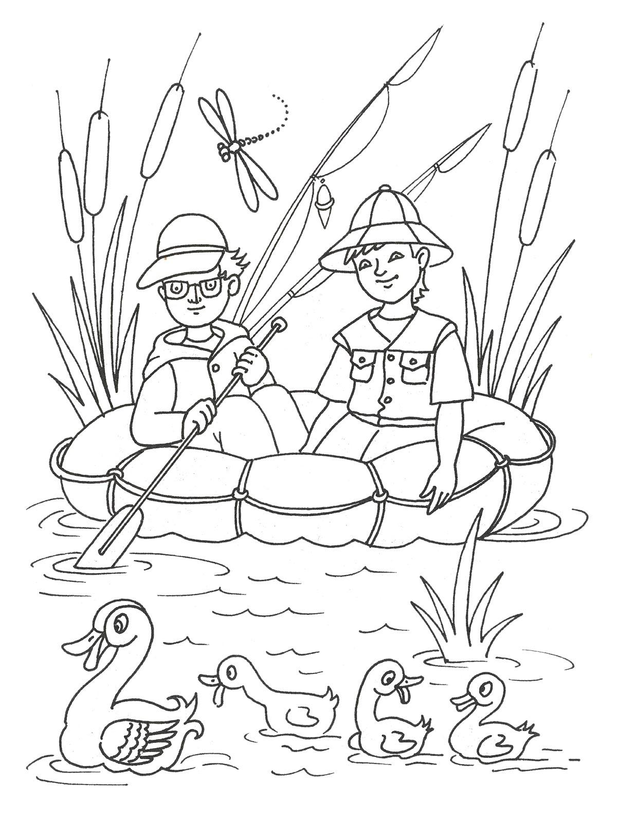 Игра раскраска для девочек и для мальчиков