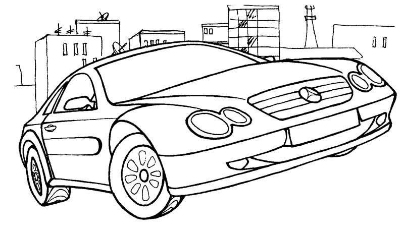 Раскраски машины | Картинки с машинами для раскрашивания ...