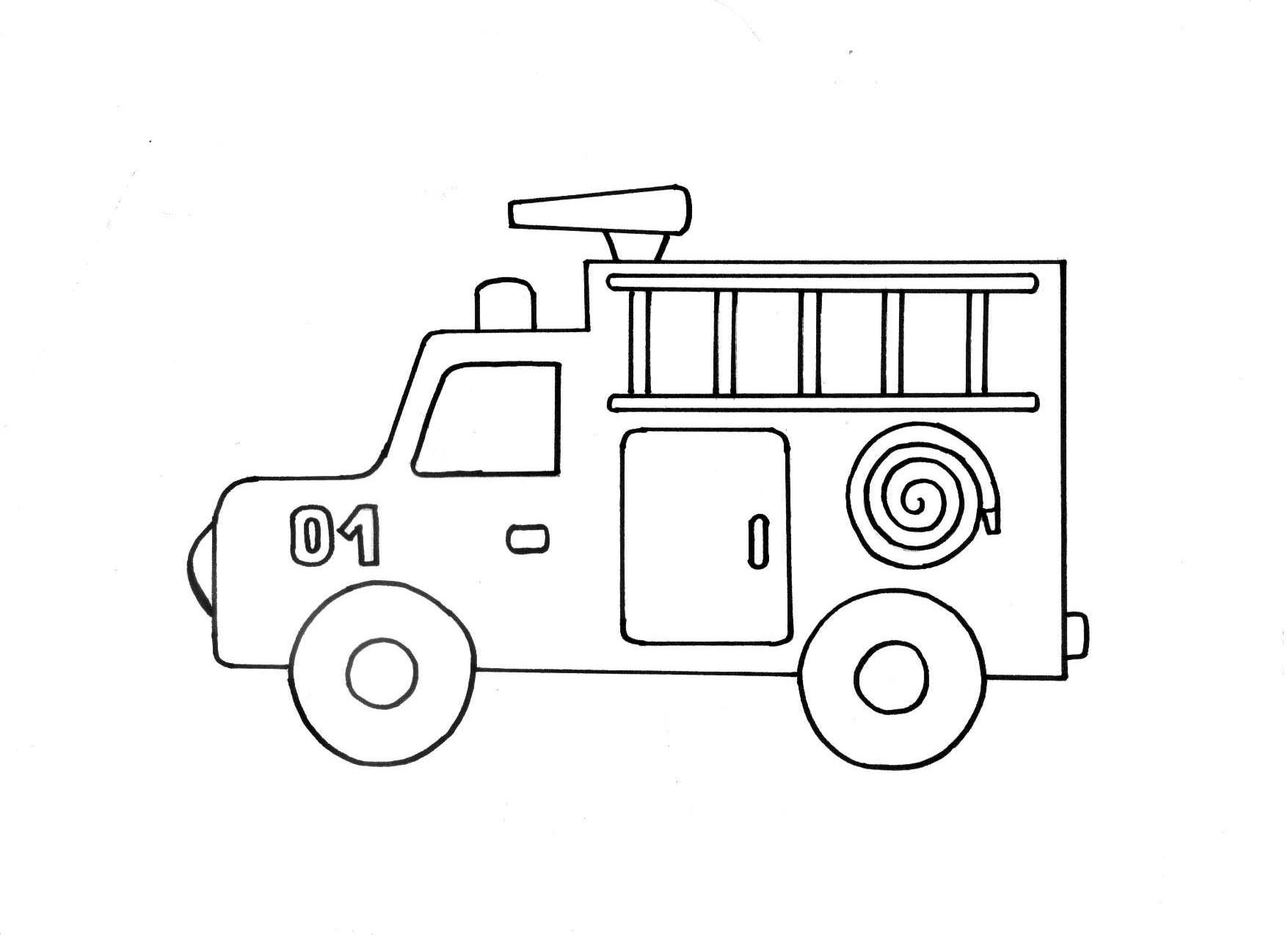 машина раскраска для детей онлайн