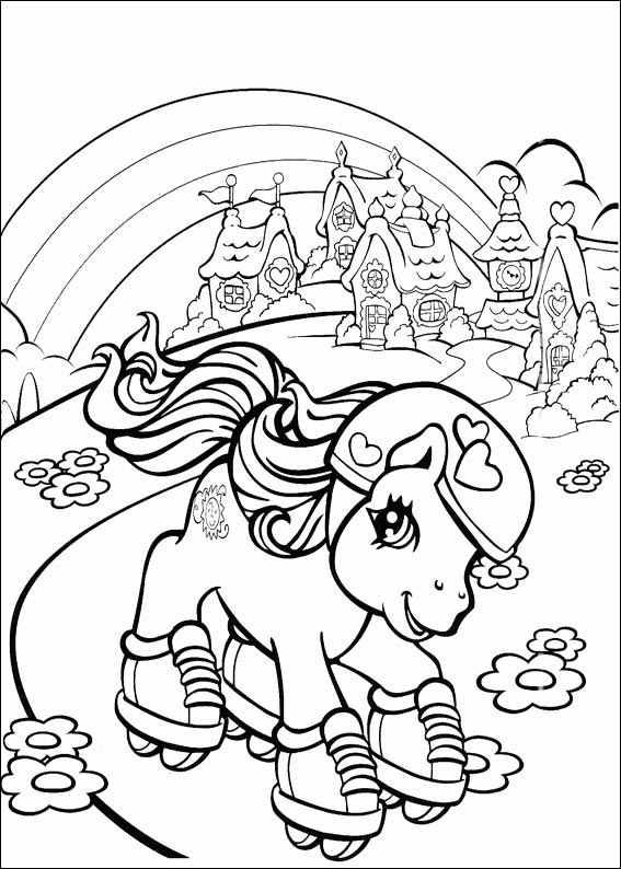 Вы можете распечатать раскраски пони