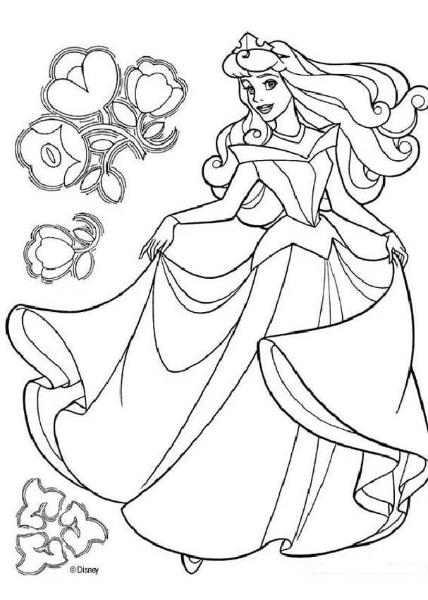 фото принцессы дисней раскраска