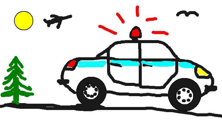 Раскраска полиция